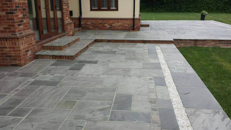 Gallery essex roof cleaning driveway cleaning patio - Natural stone patio images ...